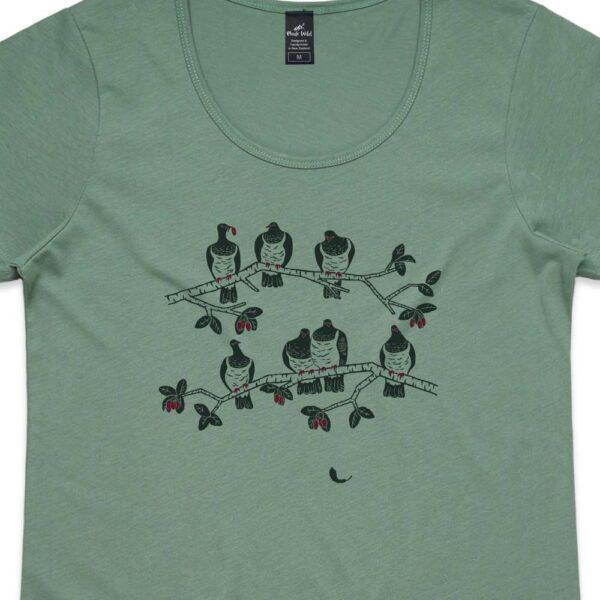Kereru Womens Sage t-shirt